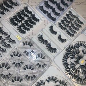 56 pairs of eyelashes